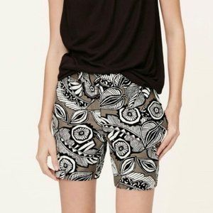 Ann Taylor LOFT Riviera Linen Shorts Sz 10